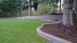 Complete Backyard Landscaping Overhaul In East Olympia - AJB ... Outdoor Wonderful Stone Fire Pit Retaing Wall Question About Relandscaping My Backyard Building A Retaing Backyard Design Top Garden Carolbaldwin San Jose Bay Area Contractors How To Build Youtube Walls Ajd Landscaping Coinsville Il Omaha Ideal Renovations Designs 1000 Images About Terraces Planters Villa Landscapes Awesome Backyards Gorgeous In Simple