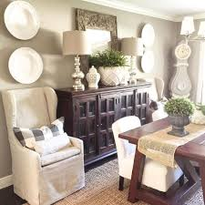 Awesome Dining Room Buffet Table Decor Ideas28