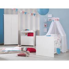 chambre complete cdiscount roba emilia chambre complète bébé 3 pièces lit bébé 70x140 cm