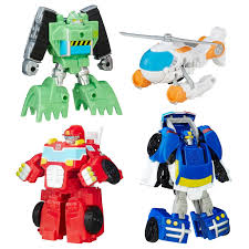 PLAYSKOOL HEROES TRANSFORMERS Rescue Bots Griffin Rock Rescue Team ...