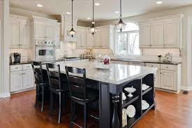 pendants kitchen island grey white modern farmhouse kitchen