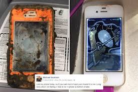 Man finds iPhone 4 in frozen lake more than a year after it was