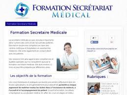formation secrétaire médicale formation secretaire medicale