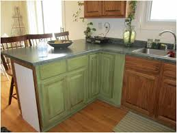 Log Cabin Kitchen Cabinet Ideas by Green Kitchen Cabinets Painted Caruba Info