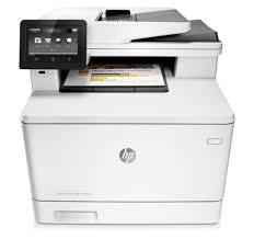 HP LaserJet Pro M477fdn A4 Colour Network Ready Multifunction Laser Printer Print