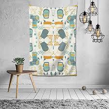 de n a tapisserie wandbehang dekoration für