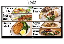 cuisine tv menut entry 5 by naveedkamran22 for design digital menu tv board
