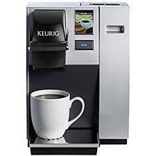Keurig K150 Single Cup Commercial K Pod Coffee Maker SilverDirect Plumb