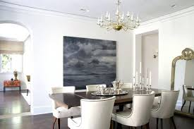 Houzz Upholstered Benches Dining Room Transitional Dark Wood Floor Idea In With White Walls