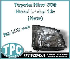 Toyota Hino 300 Head Lamp 12- - New Replacement Truck Parts - TPC ... 13655 Euro Heavy Duty Truck Parts Replacement For Sc 4 5 6 Series Go Rhino Br10 Full Width Black Front Winch Hd Bumper Hvac Promotion Transteck Inc Commercial Pallet Northern Tool Equipment Isuzu Npr Nkr Ftr Cxz Truck Cab Sheet Metal Replacement Partswww S Catalogs Replacements Daf Toyota Dyna Camry 9604 New Tpc 2006 Acura Mdx Cabin Air Filter Inspirational Kn Car Truck Cabinlvo Fh High Roof Driving Cabin Ford F 100 Parts Bcford Birmingham Al Admirable Restoration