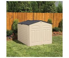 15 rubbermaid slide lid shed rubbermaid 96 cubic feet slide
