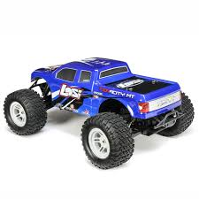 Losi 1/10 TENACITY 4WD Monster Truck Brushless RTR With AVC (Blue)