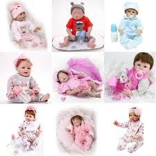 Realistic Reborn Baby Doll Newborn Lifelike Handmade Soft Vinyl Baby