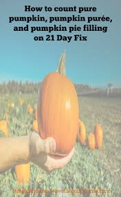 Pumpkin Puree Vs Easy Pumpkin Pie Mix by How Do You Count Pumpkin On 21 Day Fix U2013 Slender Suzie