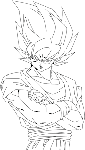 Dragon Ball Z Kai Printable Coloring Pages Color Printables Af Super Full Size