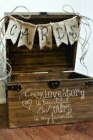 Wedding Gift Card Box Ideas