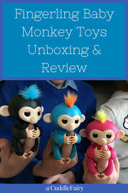 Fingerling Baby Monkey Toys Unboxing Review Pin