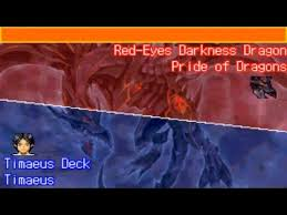 Horus The Black Flame Dragon Deck 2006 by Yu Gi Oh Ultimate Masters 2006 Red Eyes Darkness Dragon Youtube
