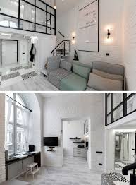 100 Mezzanine Design This Distinctly Black And White Apartment With A