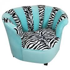 Zebra Print Bedroom Decorating Ideas by Saucer Chair Turquois Zebra Print Chair Turquoise