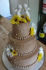Choco Daisy Wedding Cake