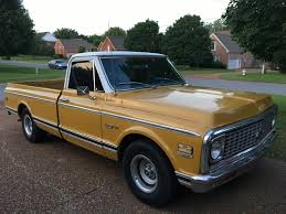 100 1971 Chevy Truck The Larest Truck In The Stable A Custom Deluxe 82k With