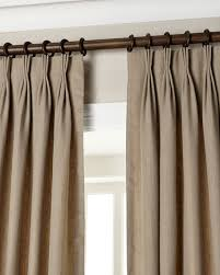 Eastern Accents Pinch Pleat Linen Curtains