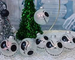 Nightmare Before Christmas Tree Toppers Bauble Set by Nightmare Before Christmas Tree Ornament Set 3 Hand