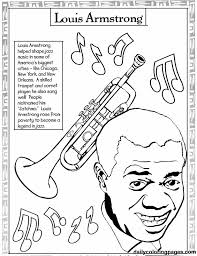 United States Black History Month Coloring Pages Printables