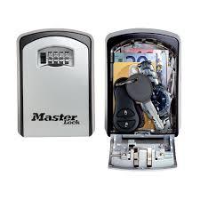 mini coffre fort a code coffre à clé sécurisé select access masterlock à combinaison