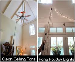 100 light bulb changing pole high ceilings ge lighting