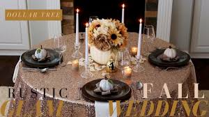 DIY FALL WEDDING CENTERPIECE