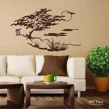 wandtattoo prärie wandaufkleber wohnzimmer