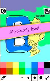ABC Coloring Book Game Kids Apk Screenshot