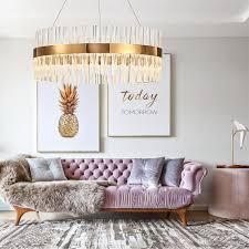 großhandel postmodern kronleuchter licht luxus kristall gold edelstahl kronleuchter kreative wohnzimmer schlafzimmer studie kronleuchter honpus