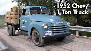 100 Ton Truck 1952 CHEVY 1 Ton YouTube