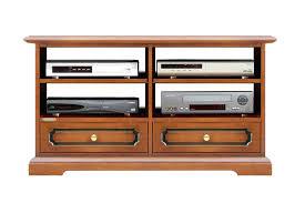 tv rack 1 m breit rack tv mit 2 schubladen und bretter tv hifi möbelim klassischer stil made in italy kleiner schrank tv made in italy starke