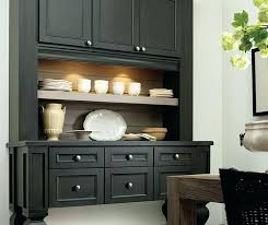 Dining Storage Cabinets Buffet Sideboards Cabinet With Doors Trendy Black
