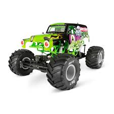 Axial 90055 SMT10 Grave Digger Monster Jam Truck 1/10 Scale Electric ... Gizmo Toy New Bright 115 Rc Ff Monster Jam Truck Rakutencom Hot Wheels Rev Tredz 2pack Styles May Vary Walmartcom 25th Titan W Team Flag 164 Jam Amazoncom Wrecking Crew Diecast Vehicle 1 Toys Lot Of 92 17324880 Derailed 17 Train Offroad 2014 Giant Grave Digger Mattel List 2018 Trucks Wiki Zombie 124 Scale Best Large Remote Control Kids Big Wheel Car 24 Gptoys S911 24g 112 2wd Electric 5417 Free Decal Sticker Pack Decalcomania