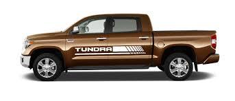 100 Quality Truck Body 2X TOYOTA TUNDRA Side Skirt Vinyl Body Decal Sticker Graphics