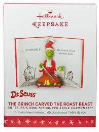 The Grinch Christmas Tree Scene by Amazon Com Hallmark 2016 Dr Seuss The Grinch Christmas Ornament