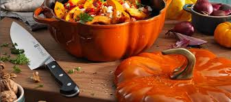 Staub Pumpkin Cocotte by Spicy Pumpkin With Feta Cheese The Premiere Kitchenware Store In