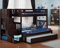 SALE $1339 80 Cascade Staircase Twin over Full Bunk Bed Trundle