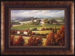 Tuscan Vineyard Wall Art