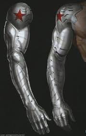Reference Picture Of The Winter Soldiers Arm