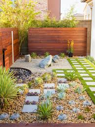 100 Zen Garden Design Ideas California Rock With Ipe Wood Water Feature