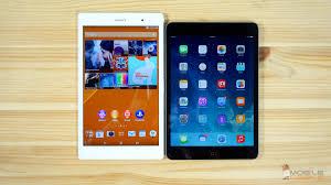 iPad Mini 3 vs Sony Xperia Z3 Tablet pact