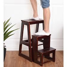 Folding Wooden Step Ladders | Zef Jam