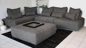 canapé module canapé avec dossier modulable larvik 5 places en tissu mobilier moss