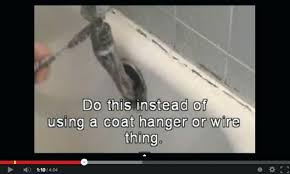 Tips Unclogging A Bathtub Drain by Snake A Bathtub Drain U2013 Modafizone Co